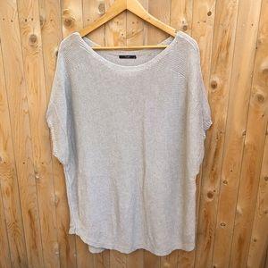 Tart linen blend knit top pullover size 4X